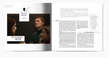 layout for magazine KVADRAT