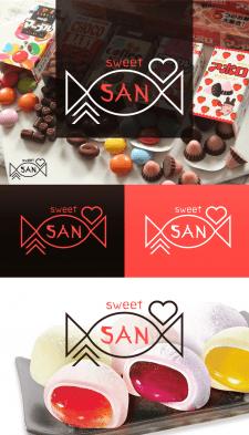 Магазин сладостей из Японии Sweet San / логотип