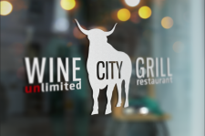 Логотип Wine City Grill