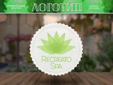 Логотип для спа-центра Recreato Spa