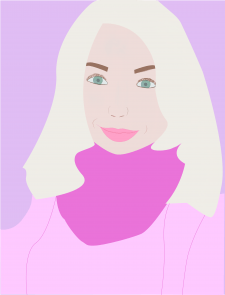Портрет иллюстрация