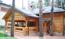 Дом для отдыха со сруба (реализовано)