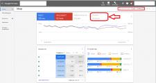 Статистика аккаунта в google