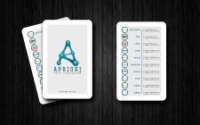 визитка для сети заведений APRIORI