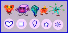 Персонажи и иконки