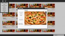 Интерактивное электронное меню в кафе