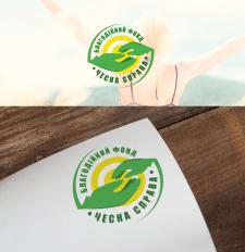 """логотип фонда """" Чесна справа"""""""