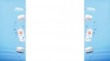Оформление боковых баннеров Mixa для clutch.ua