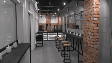 Дизайн торговой мебели для кофейни CoffeeMagic