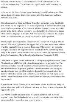 EN SEO-статья Mortal Kombat Ultimate