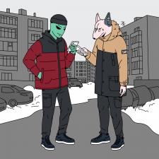 Иллюстрация для Staff clothes