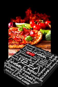 Упаковка для пиццы («Swiss bakery»)