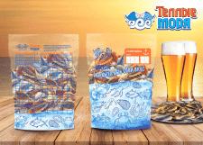 пакет для сушенной  рыбы к пиву