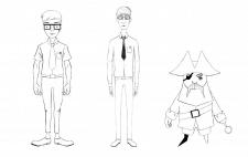 Наброски персонажей