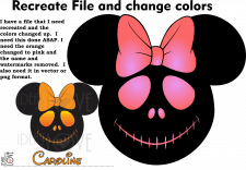 Recreate File and change colors