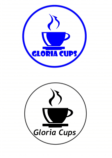 Gloria Cups logo#2