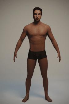 Моделирование персонажа 2