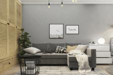 Двухкомнатная квартира с мебелью из ИКЕА
