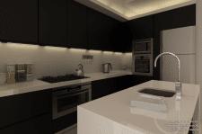 Квартира 129.2 м.кв. (кухня №2)