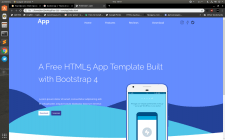 App Template Demo