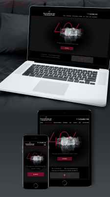 Дизайн страницы ошибки 404