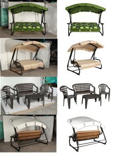 Съемка садовой мебели (качели, гамаки, наборы)
