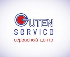 логотип сервисного центра Guten service
