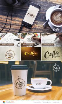 Разработка и создание логотипа для кофейни