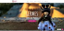 Сайт для туристического агентства GermesTour