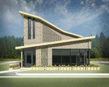 проект частного дома для фирмы BRAER