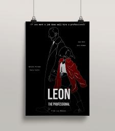 """Постер """"Leon. The professional"""""""