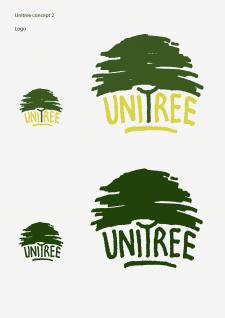 """Вариант логотипа для """"Unitree"""" 2"""