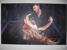 Пара, танцующая бразильский зук 2