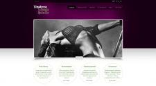 Создание сайта для студии танцев