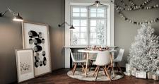 Серия рождественских интерьеров для Conforama