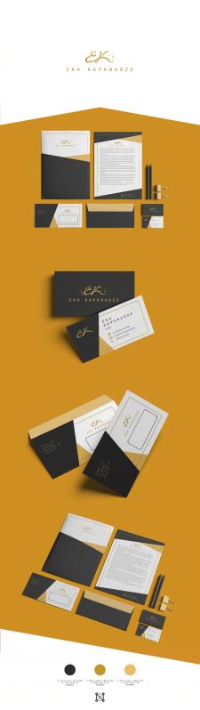 Логотип и фирменный стиль (услуги стилиста)