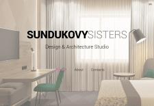 Верстка сайта для студии SUNDUKOVYSISTER