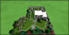 Стильный и лаконичный сад