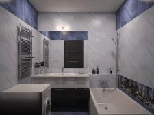 Ванная,проект 3-комн.кв,г.Киев