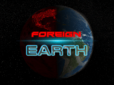 "Логотип для инди-игры ""Foreign earth"""