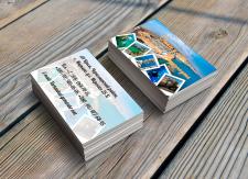 Дизайн визитки для отеля