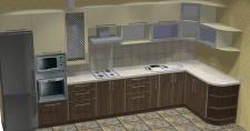 Разработка и визуализация проекта кухни