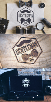 логотип для Gentleman Box