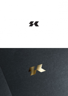 Логотип для дизайнера одежды Sasha Kolpakov (Киев)