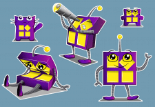Разработка персонажа для InstaPlus.pro