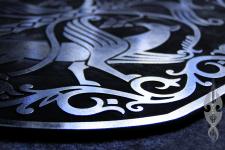 геральдический щит гравировка на металле