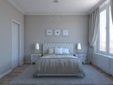 Дизайн и визуализация спальной