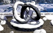 Снежная сцена