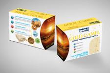 Дизайн упаковки одеяла из вербюжьей шерсти Gold Ca