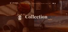 Верстка и посадка сайта для коллекционера